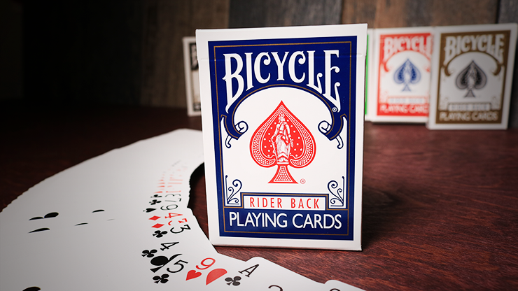 Bicycle Rider Back Playing Cards Poker (Blue)