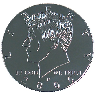 Kennedy Palming Coin (Half Dollar Sized) by You Want It We Got It