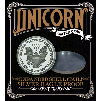 Expanded shell;(Tail) by Unicorn Gaffed Coin