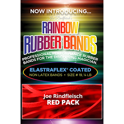 Joe Rindfleisch's Rainbow Rubber Bands (Joe Rindfleisch - Red Pack) by Joe Rindfleisch