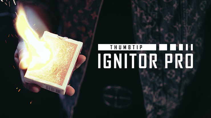 Thumbtip Ignitor Pro (Gimmick and Online Instructions)