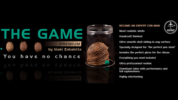 The Game (Gimmicks and Online Instructions) by Inaki Zabaletta