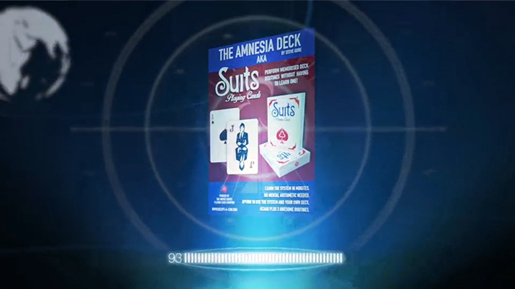 The Amnesia Deck AKA Suits Deck (Gimmick and Online Instructions) by Steve Gore