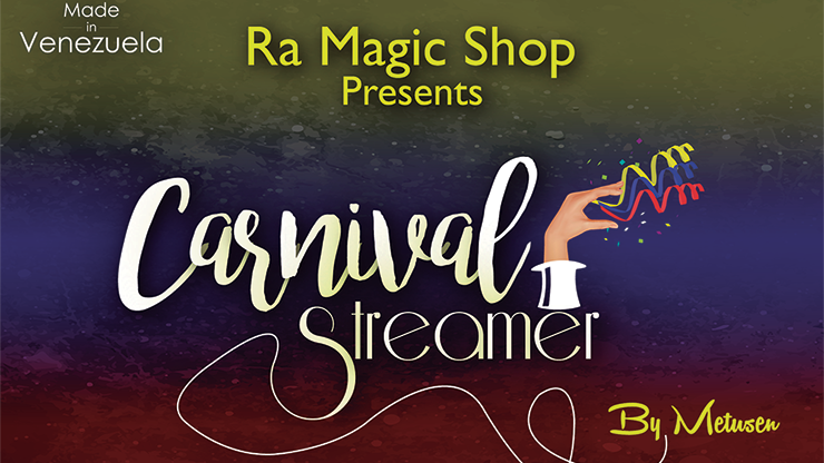 Carnival Streamer Christmas (Red, White and Green) by Ra Magic