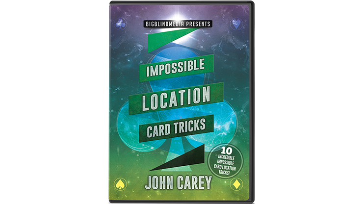 Impossible Location Card Tricks by John Carey