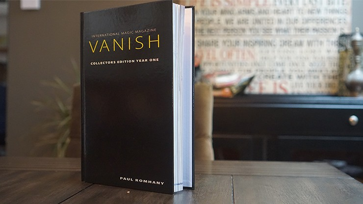 VANISH MAGIC MAGAZINE Collectors Edition Year One (Hardcover) by Vanish Magazine