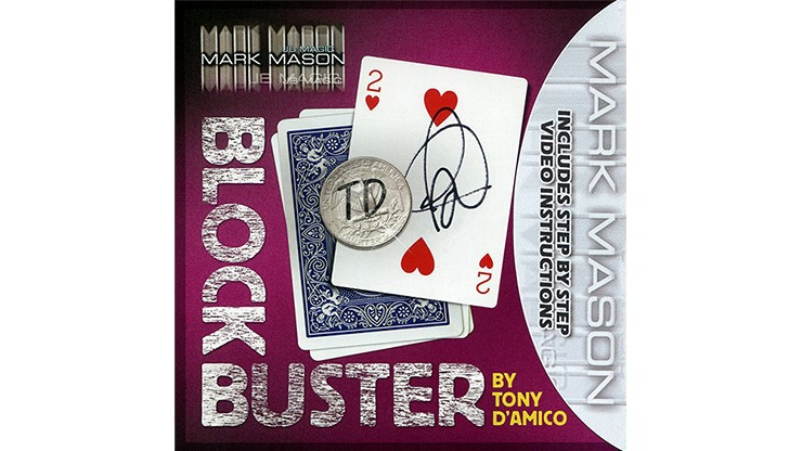 BLOCK BUSTER (Gimmick and Online Instructions) by Tony D'Amico and Mark Mason