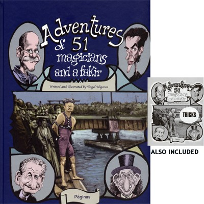Adventures of 51 Magicians (Book & Pamphlet ) by Angel Idigoras