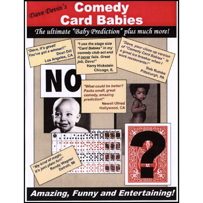 Comedy Card Babies (Small) by Dave Devin