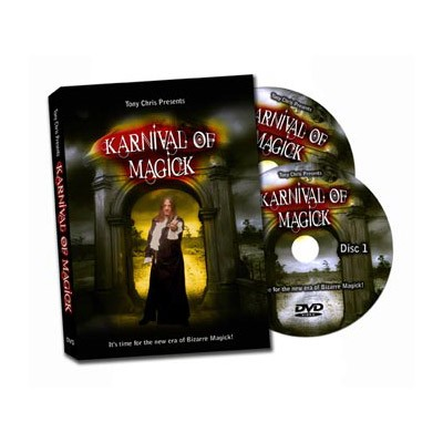 Karnival of Magick (2 DVD Set) by Tony Chris