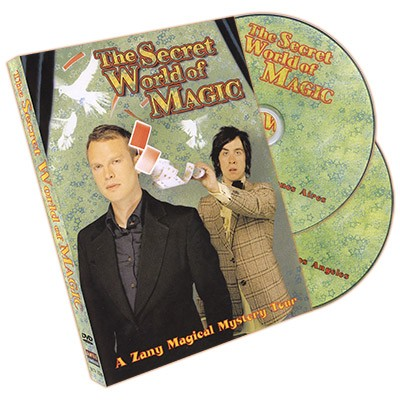The Secret World of Magic (2 DVD Set) by Pete Firman and Alistair Cook