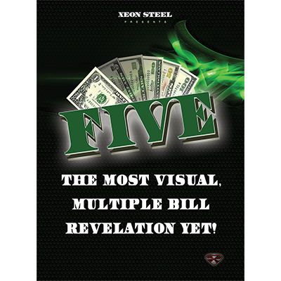 Five (DVD & Gimmicks) by Xeon Steel