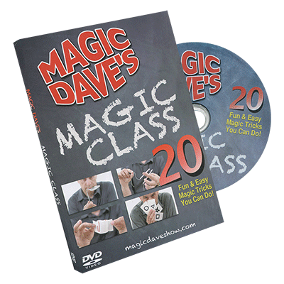 Magic Dave's Magic Class by David Williamson