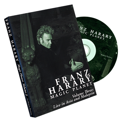 Magic Planet vol. 3: Live in Asia and Malaysia  by Franz Harary and The Miracle Factory