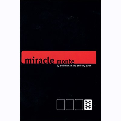 Miracle Monte (With DVD) by Andy Nyman and Anthony Owen
