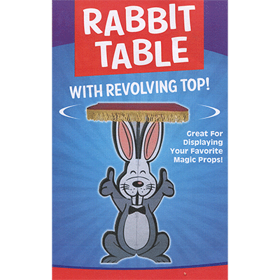 Rabbit Table with Revolving Top