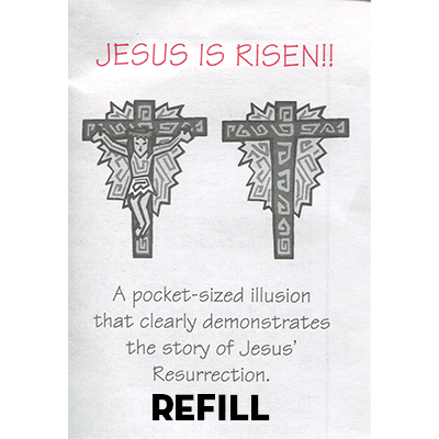 Jesus is Risen refill box by Top Hat Magic