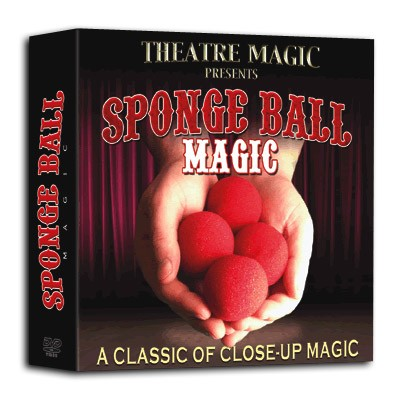 Sponge Ball Magic (DVD and Gimmick) by Theatre Magic