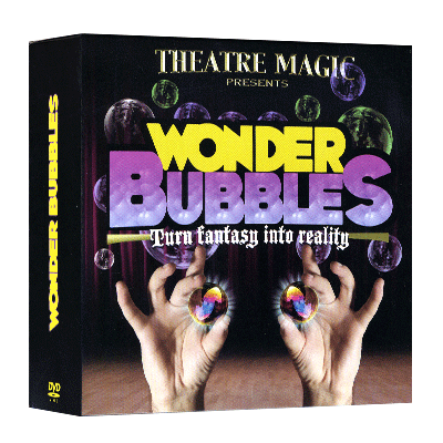 Wonder Bubble (DVD and Gimmick) by Theatre Magic