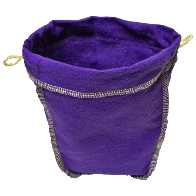Felt Bag (Purple, Ungimmicked)