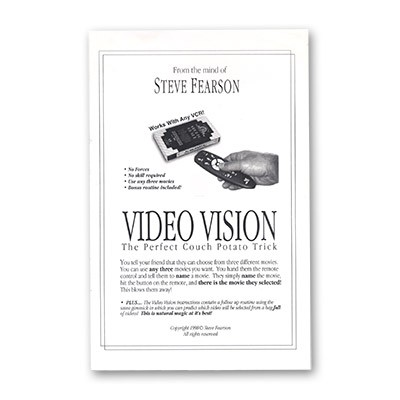 Video Vision by Steve Feason