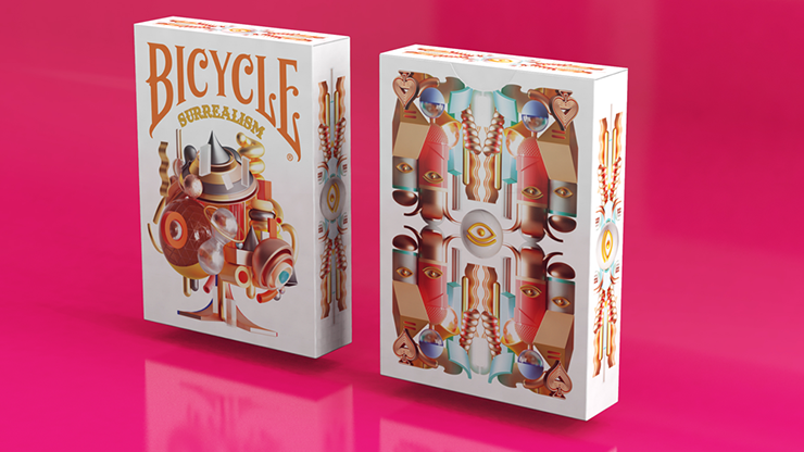 Bicycle Surrealism Playing Cards by Riffle Shuffle