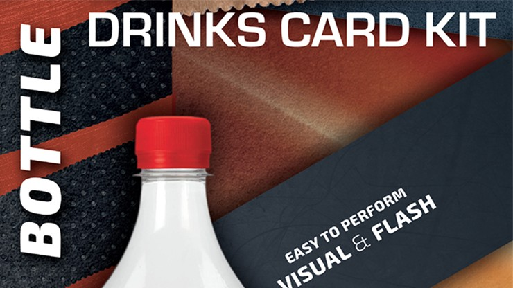 Drink Card KIT for Astonishing Bottle by João Miranda and Ramon Amaral